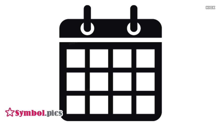 Calendar Symbol Images, Pictures Free Download