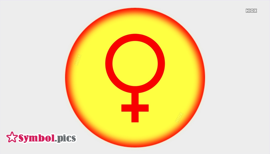 Planet Female Venus Symbol